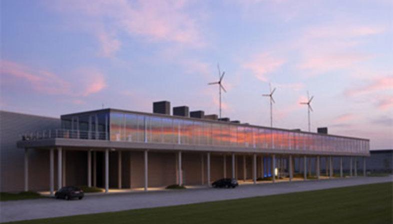 Oficinas de Renson. Waregem (Bélgica). Jo Crepain. 2002