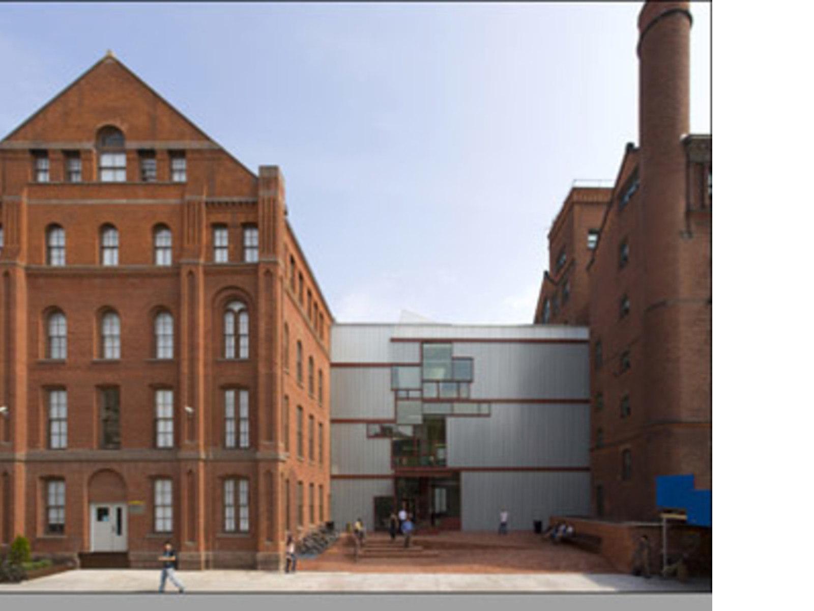 higgins hall pratt institute steven holl nueva york 2005