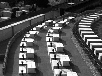 Cementerio de Armea (Sanremo), Aldo Amoretti y Marco Calvi, Italia, 2003