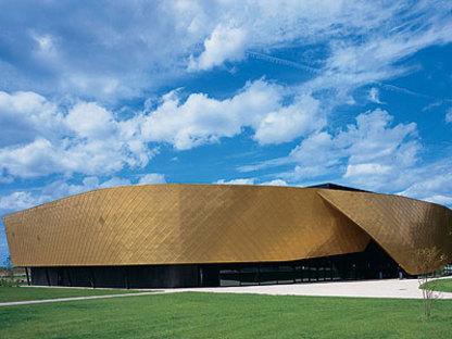 Salón de fiestas, Le Safran, S.C.P.A. Semon-Rapaport Mandataire de L'Equipe Architects, Brie Comte Robert, 2006