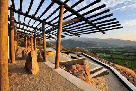 Mirador Viña Seña: el centro en el paisaje