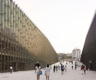 Perrault y la Universidad Femenina Ewha de Seúl