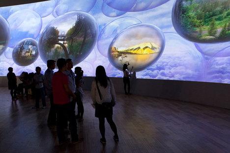 El Pabellón finlandés en la Expo de Shanghai 2010