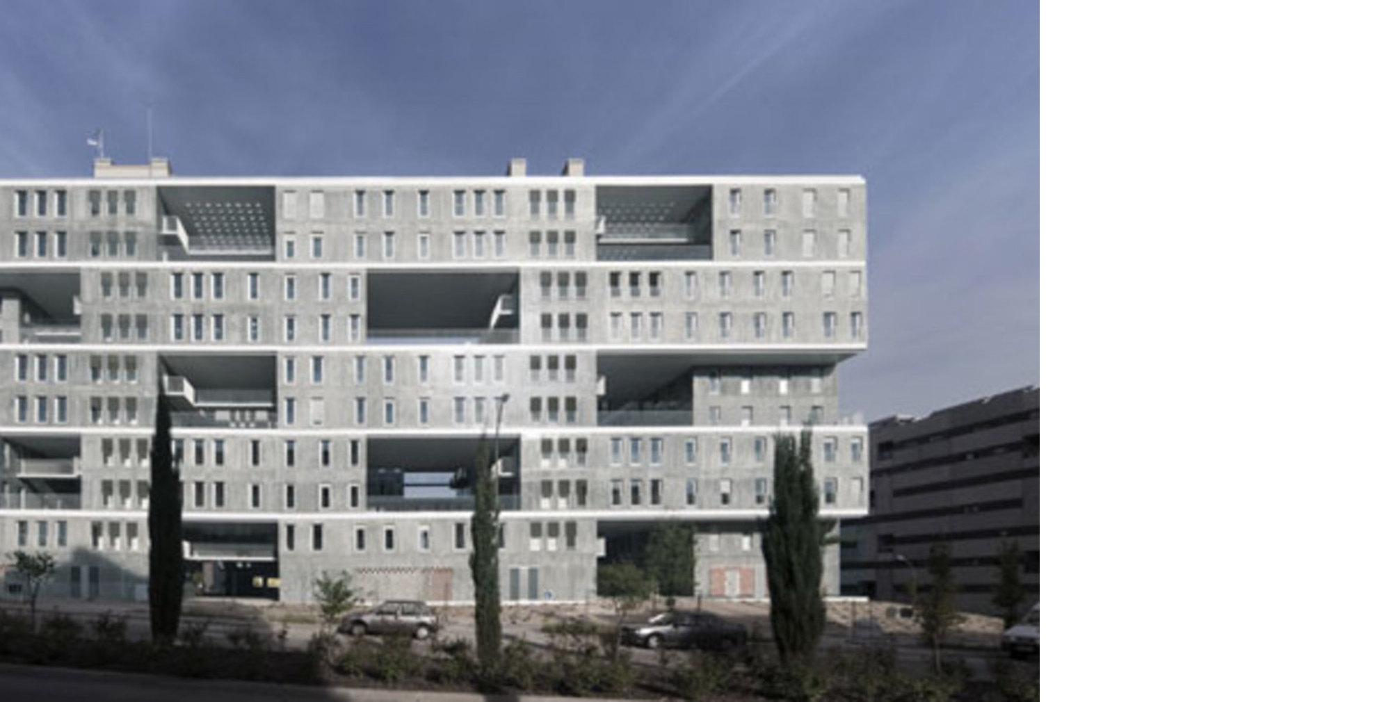 Mvrdv El Complejo Celosia En Madrid Floornature