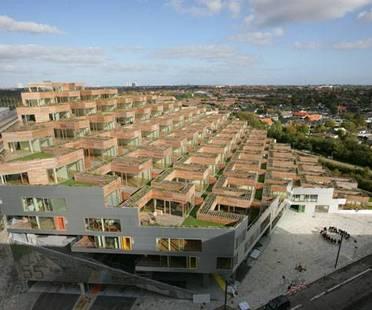The Mountain:complejo residencialen Copenhague