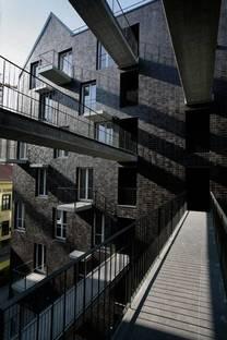 Dinamismo del diseño de las fachadas