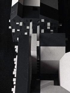Maquetas, partes oscuras de nueva construcción