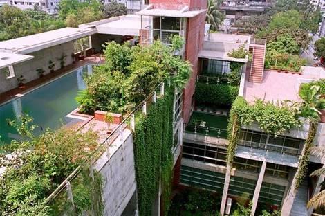 Shatotto: Casa Meghna en Bangladesh