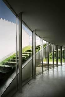 La escalera al tejado-jardín