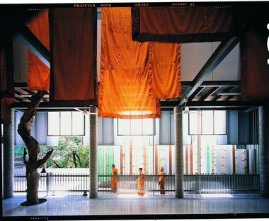 Un museo del templo budista en Tailandia