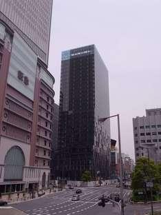 Perrault y la torre Fukoku en Osaka