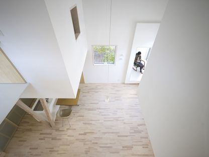 Yoshichika Takagi, una casa en un aparcamiento