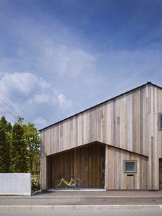 Yoshichika Takagi: casa de madera en Sapporo