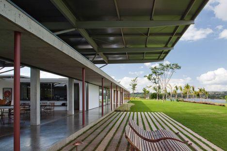 Andrade Morettin: casa larga en São Paulo