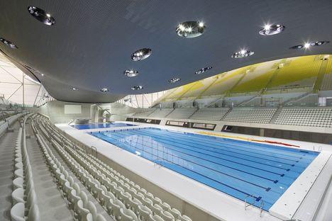 Zaha Hadid: Aquatics Centre en Londres