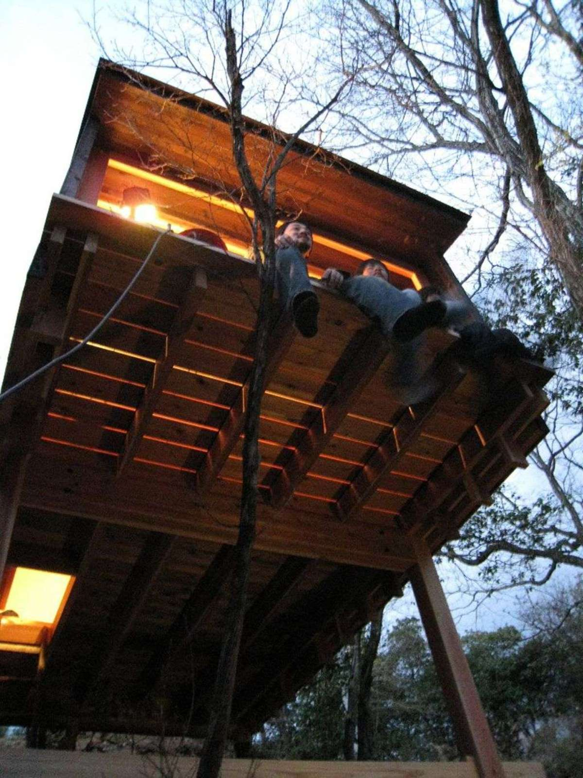 Koji kakiuchi: un refugio de madera en Nara