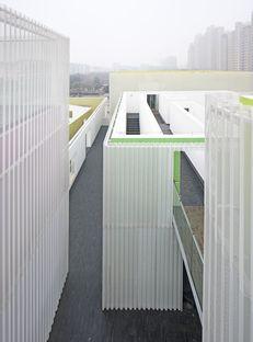 Deshaus: Qingpu Youth Center en Shanghái