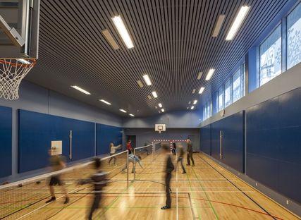 C. F. Møller: Sølvgade School en Copenhague