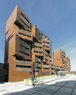 OFIS architects: Basket apartments, en París