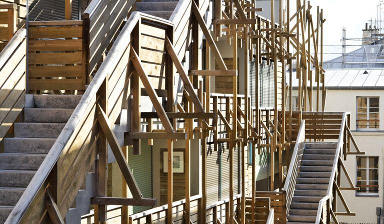 François: viviendas y talleres Eden Bio en París
