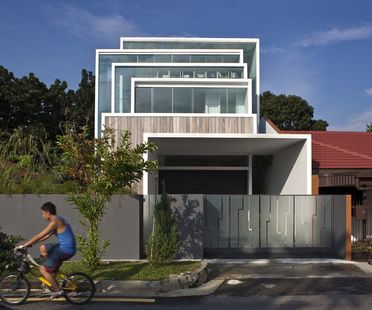 Chang Architects: casa nella natura a Singapore