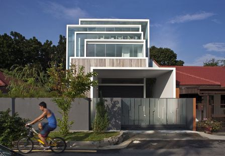 Chang Architects: casa en la naturaleza en Singapur