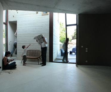 Pottgiesser: maison L, núcleos residenciales en la vegetación