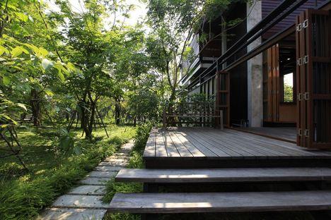 Baan Dumneon, casa de vacaciones en Tailandia
