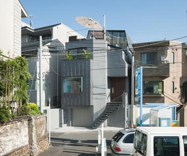 Keiji Ashizawa: casa en el centro de Tokio rodeada de vegetación