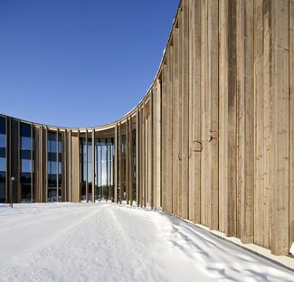 Halo Architects: Sami Cultural Center en Inari (Finlandia)