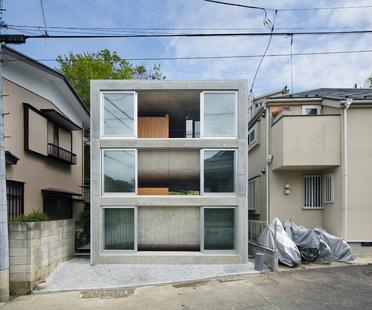 Takeshi Hosaka: casa en un terreno de 60 m2 en Yokohama