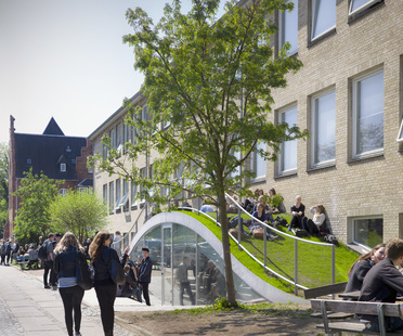 BIG (Bjarke Ingels): Gammel Hellerup Gymnasium en Dinamarca