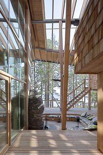 Koponen: casa en el lago Saimaa, en Finlandia