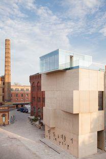 Tchoban&Kuznetsov: Museum for architectural drawing, en Berlín