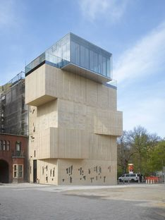 Tchoban&Kuznetsov: Museum for architectural drawing, en Berlín