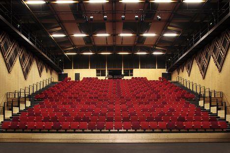 A+Architecture: teatro Jean-Claude Carrière en Montpellier