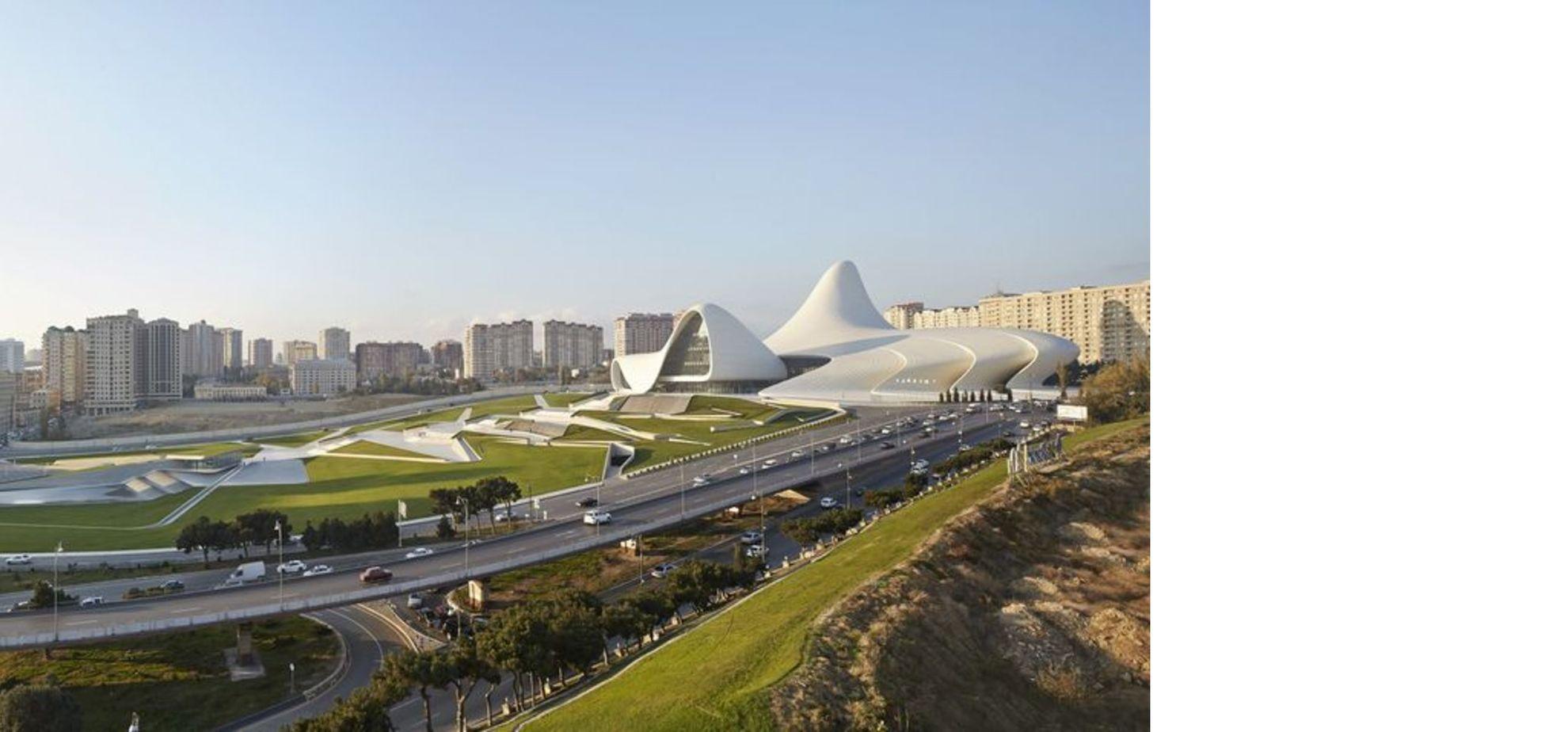 Zaha Hadid Heydar Aliyev Center En Baku Floornature