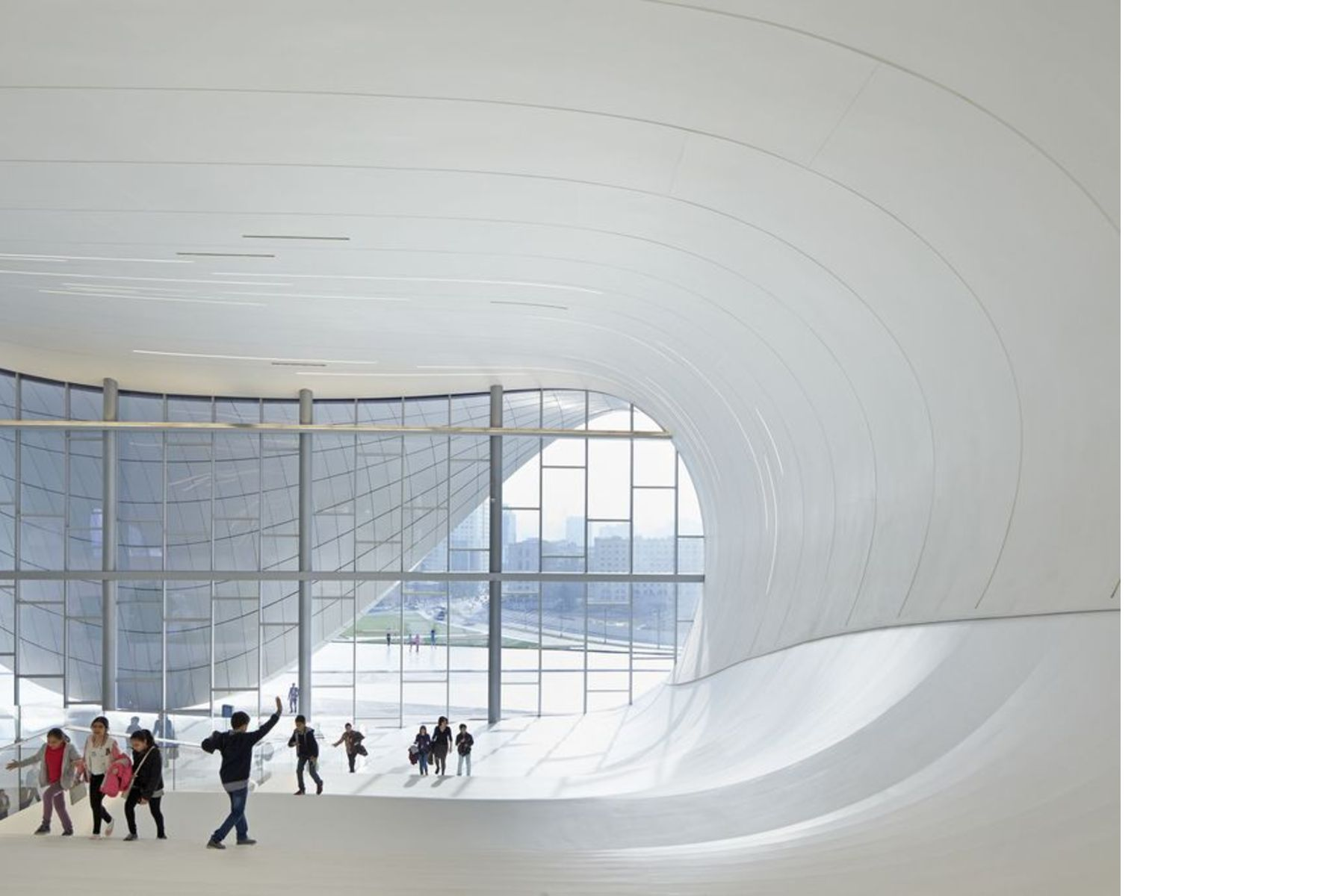 Zaha Hadid Heydar Aliyev Center En Baku Floornature