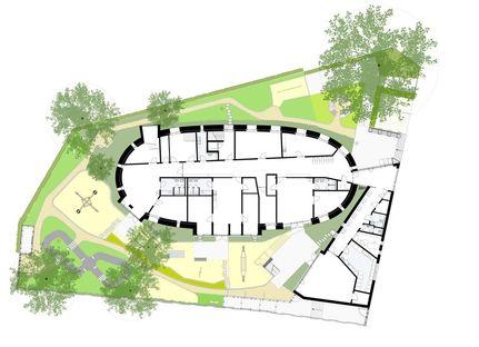 Bolles + Wilson: transformación de una iglesia en guardería en Münster