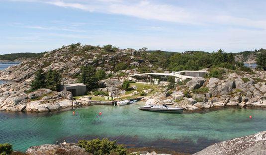 Lund Hagem architects: casa en la isla de Lyngholmen, Noruega