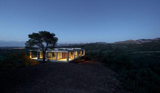 Pezo von Ellrichshausen: Solo House en Cretas, España