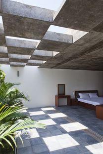 Vo Trong Nghia Architects: casa de hormigón en Binh Thanh (Ho Chi Minh)