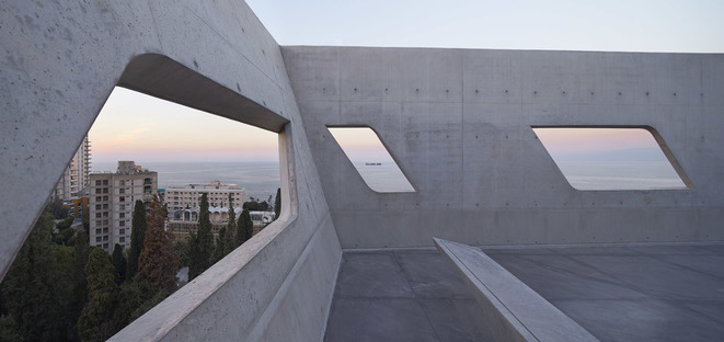 Issam Fares Institute for Public Policy de Zaha Hadid en Beirut