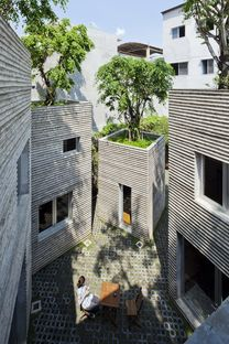 House for trees de Vo Trong Nghia Architects en Ho Chi Minh