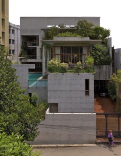 Rafiq Azam y la Mamun residence en Chittagong (Bangladesh)