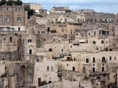 """Matera: redescubrir los """"Sassi"""", un antiguo sistema de viviendas."""