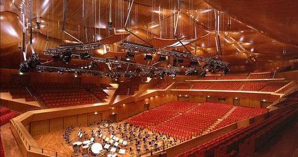 Auditorio Parco della Musica, Roma