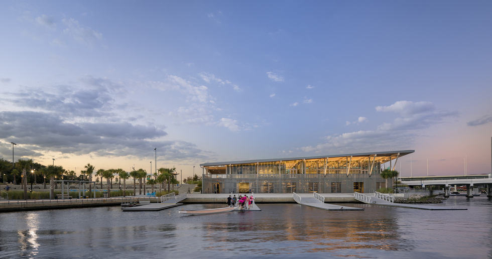 ASLA-NY Award for Julian B. Lane Riverfront Park in Tampa