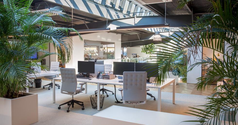 Metaform's warehouse to office transformation