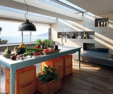 Suelos y revestimientos para renovar la cocina